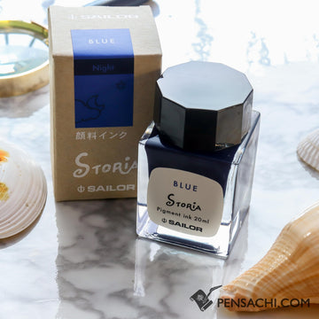 Sailor Storia Ink Blue - Night 20ml - PenSachi Japanese Limited Fountain Pen