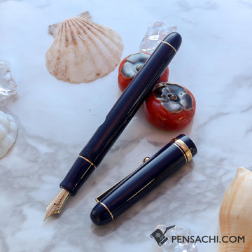PILOT Custom 74 Fountain Pen - Dark Blue - PenSachi Japanese Limited Fountain Pen
