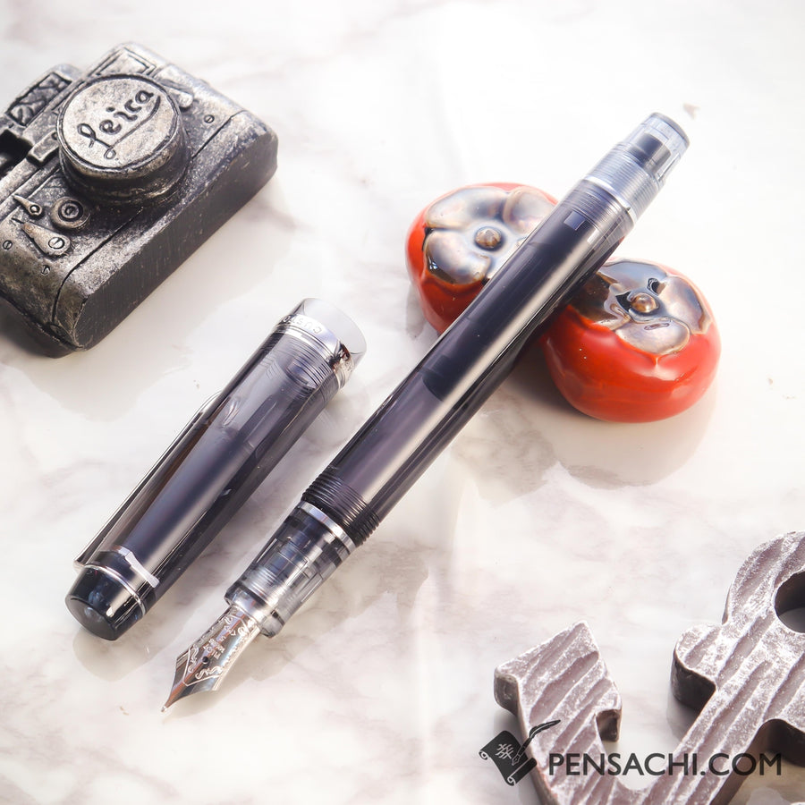 PILOT Custom Heritage 92 Fountain Pen - Demonstrator Black - PenSachi Japanese Limited Fountain Pen
