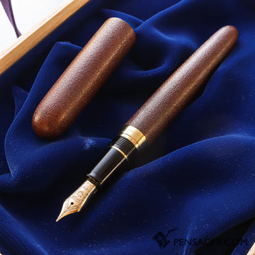 SAILOR 1911 Profit Large (Full size) Fountain Pen - REI URUSHI TSUGARU SABI NURI - PenSachi Japanese Limited Fountain Pen