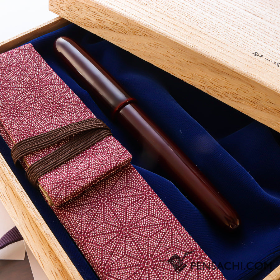 SAILOR 1911 Profit Large (Full size) Fountain Pen -  REI URUSHI WAJIMA TAME NURI - PenSachi Japanese Limited Fountain Pen