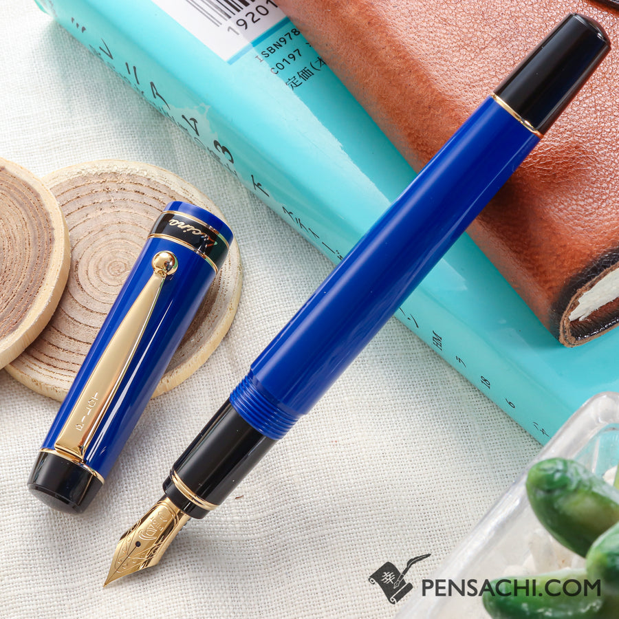 Pilot Lucina Fountain Pen - Blue - PenSachi Japanese Limited Fountain Pen