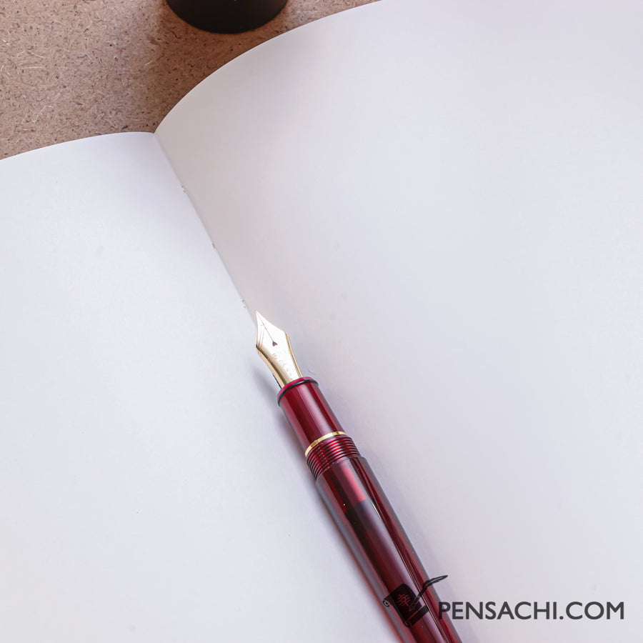 Premium C.D. Notebook A5 Brown - Blank - PenSachi Japanese Limited Fountain Pen