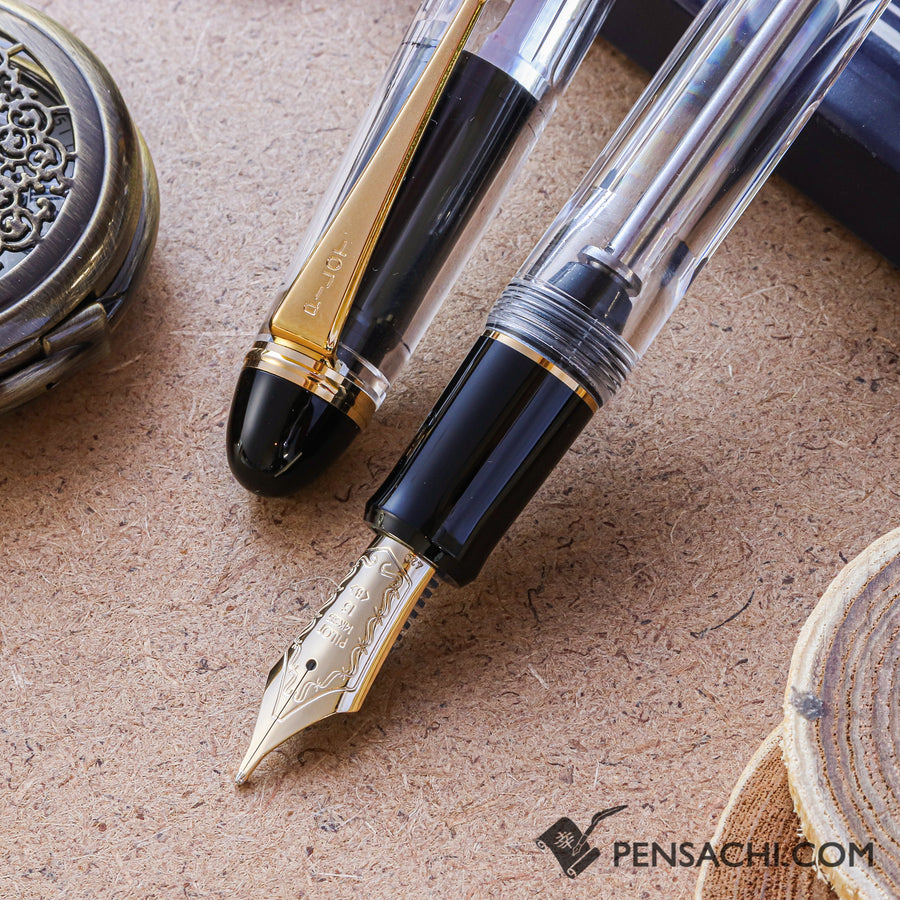 PILOT Custom 823 Fountain Pen - Transparent - PenSachi Japanese Limited Fountain Pen