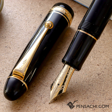 PILOT Custom 742 Fountain Pen - Black - PenSachi Japanese Limited Fountain Pen