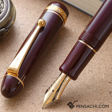 PILOT Custom 742 Fountain Pen - Deep Red - PenSachi Japanese Limited Fountain Pen