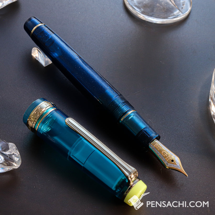 SAILOR Cocktail Series Pro Gear Classic Fountain Pen - #10 Kure Azur - PenSachi Japanese Limited Fountain Pen