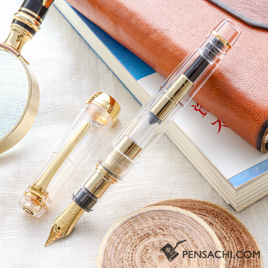 SAILOR Limited Edition Pro Gear Classic Fountain Pen - Transpatent Sketeton - PenSachi Japanese Limited Fountain Pen