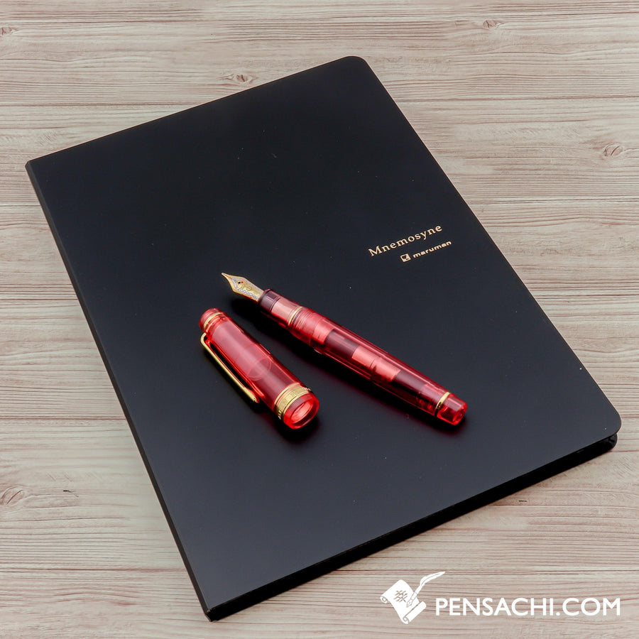 Maruman Mnemosyne A5 Notepad 5mm - Graph N188A with PP Holder - PenSachi Japanese Limited Fountain Pen