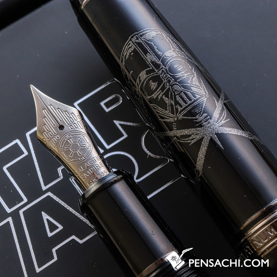 Platinum #3776 Century Star Wars Fountain Pen - DARTH VADER - PenSachi Japanese Limited Fountain Pen