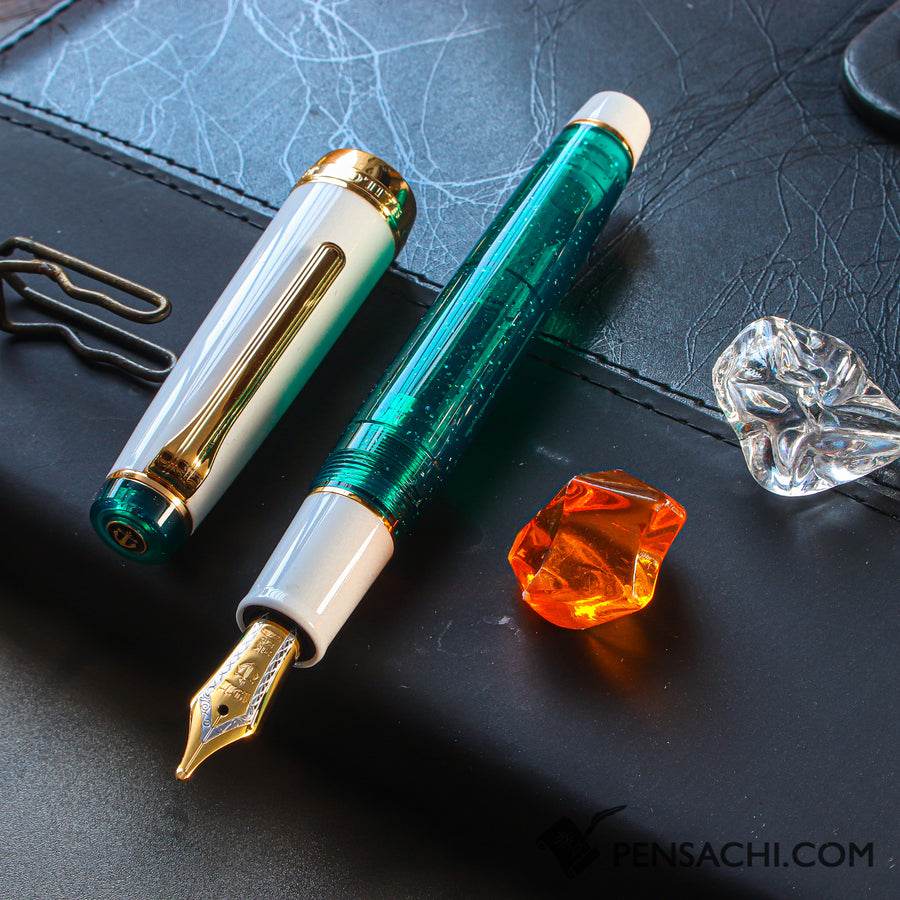 SAILOR Limited Edition Pro Gear Demonstrator - Sparkling Emerald - PenSachi Japanese Limited Fountain Pen