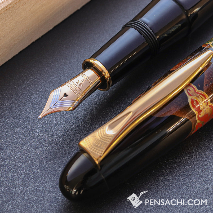 PLATINUM Izumo Yakumonuri Fountain Pen - Togi Yakumo - PenSachi Japanese Limited Fountain Pen