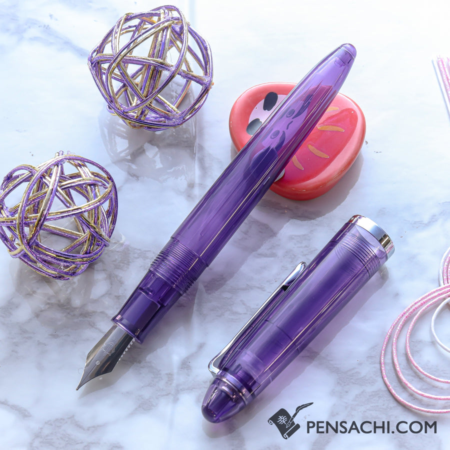 SAILOR 1911 Profit Junior Fountain Pen - Purple - PenSachi Japanese Limited Fountain Pen