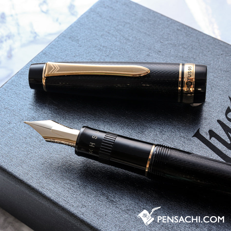 PILOT Justus 95 Fountain Pen - Barley - PenSachi Japanese Limited Fountain Pen