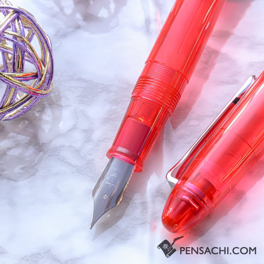 SAILOR 1911 Profit Junior Fountain Pen - Red - PenSachi Japanese Limited Fountain Pen