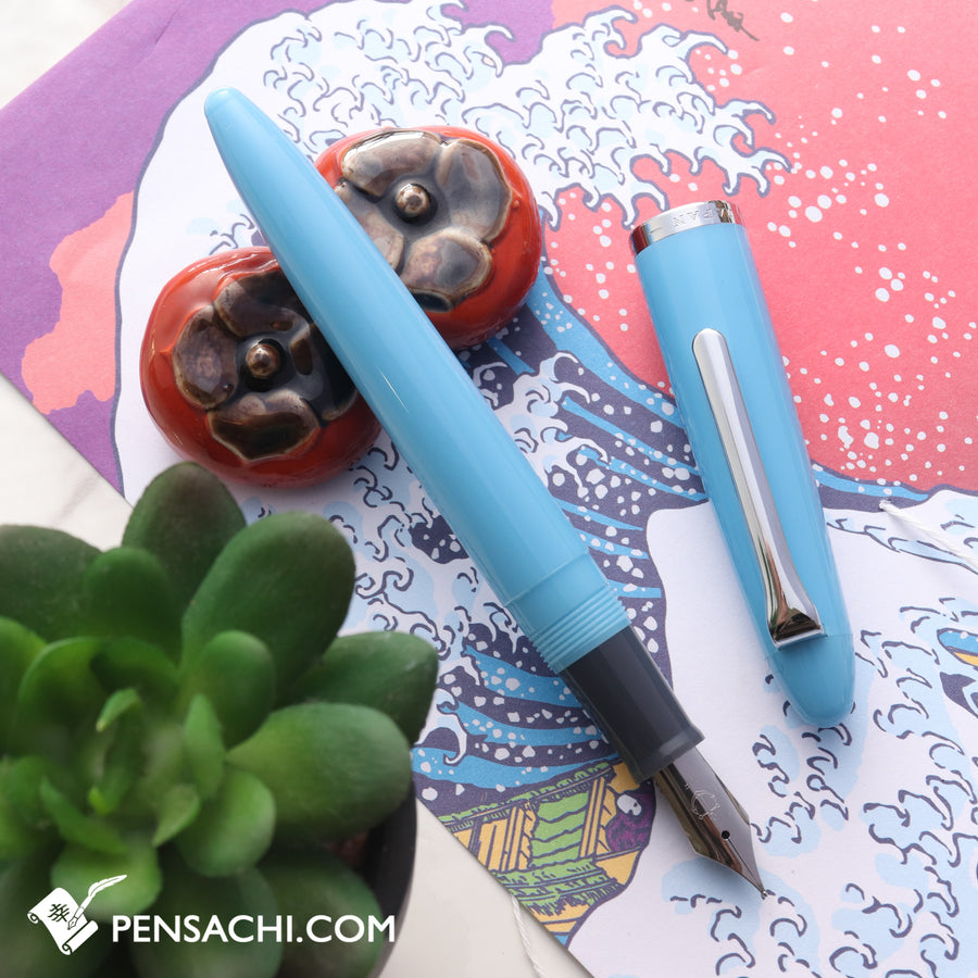 SAILOR 1911 Profit Junior Fountain Pen - Cyan - PenSachi Japanese Limited Fountain Pen