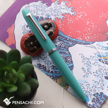 SAILOR 1911 Profit Junior Fountain Pen - Aqua Green - PenSachi Japanese Limited Fountain Pen