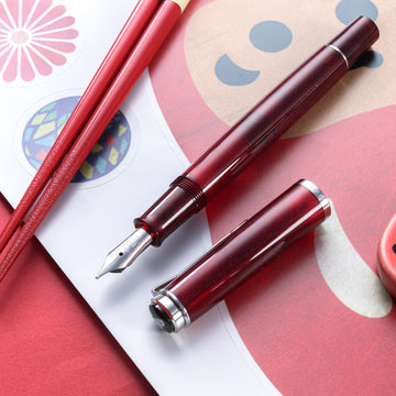 PELIKAN Special Edition Classic M205 Fountain Pen - Star Ruby - PenSachi Japanese Limited Fountain Pen