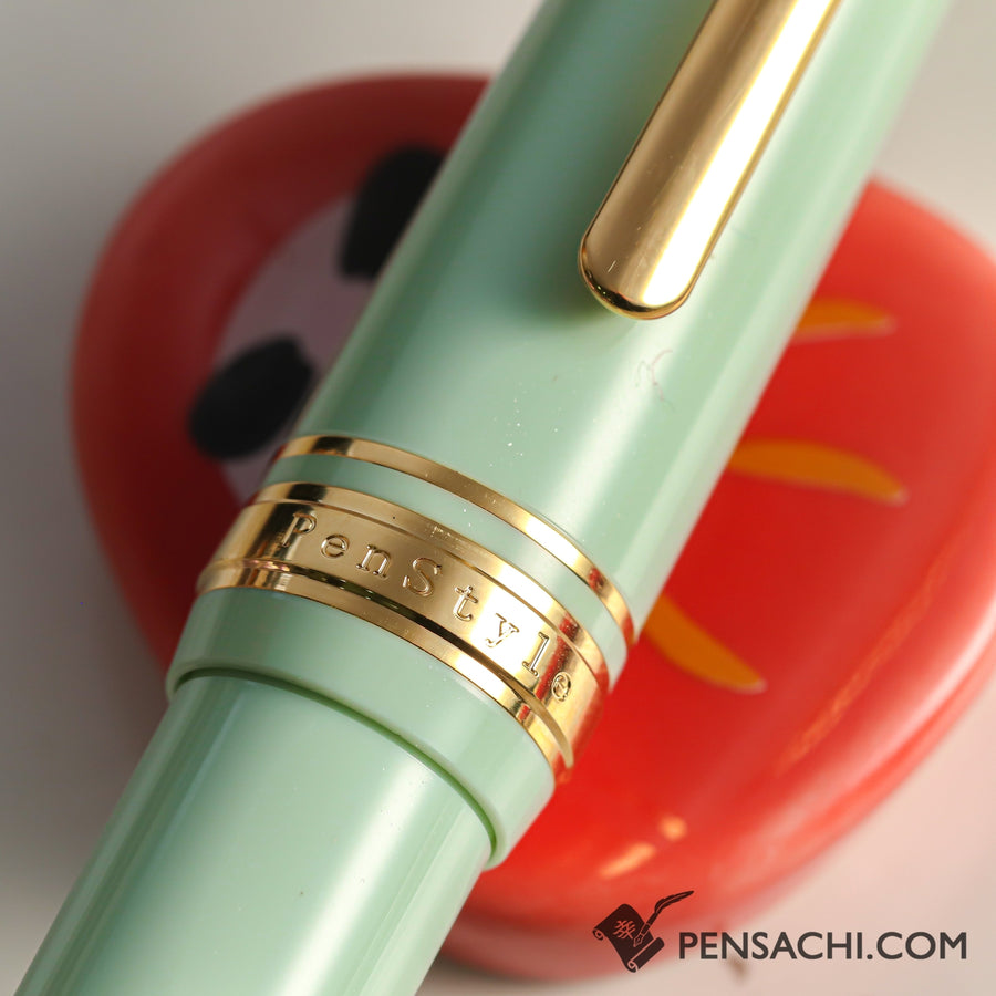 SAILOR Limited Edition Pro Gear Mini Fountain Pen - Mint Green - PenSachi Japanese Limited Fountain Pen