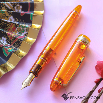 SAILOR Limited Edition 1911 Standard (Mid size) Demonstrator Fountain Pen - Ripen Mango - PenSachi Japanese Limited Fountain Pen