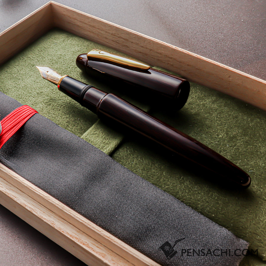 SAILOR Limited Edition Pro Gear Large Fountain Pen - Navy Pink Gold Fountain Pen- PenSachi Japanese Limited Fountain Pen