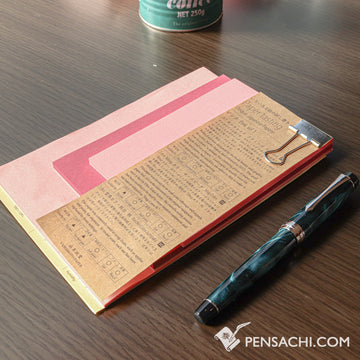 Yamamoto Paper Tasting - Pink Vol.1 - PenSachi Japanese Limited Fountain Pen
