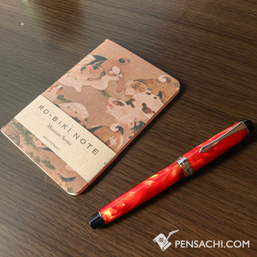 Yamamoto Ro-Biki Notebook Museum Series - Hyakkenzu - PenSachi Japanese Limited Fountain Pen