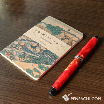 Yamamoto Ro-Biki Notebook Museum Series - Tokaido - PenSachi Japanese Limited Fountain Pen