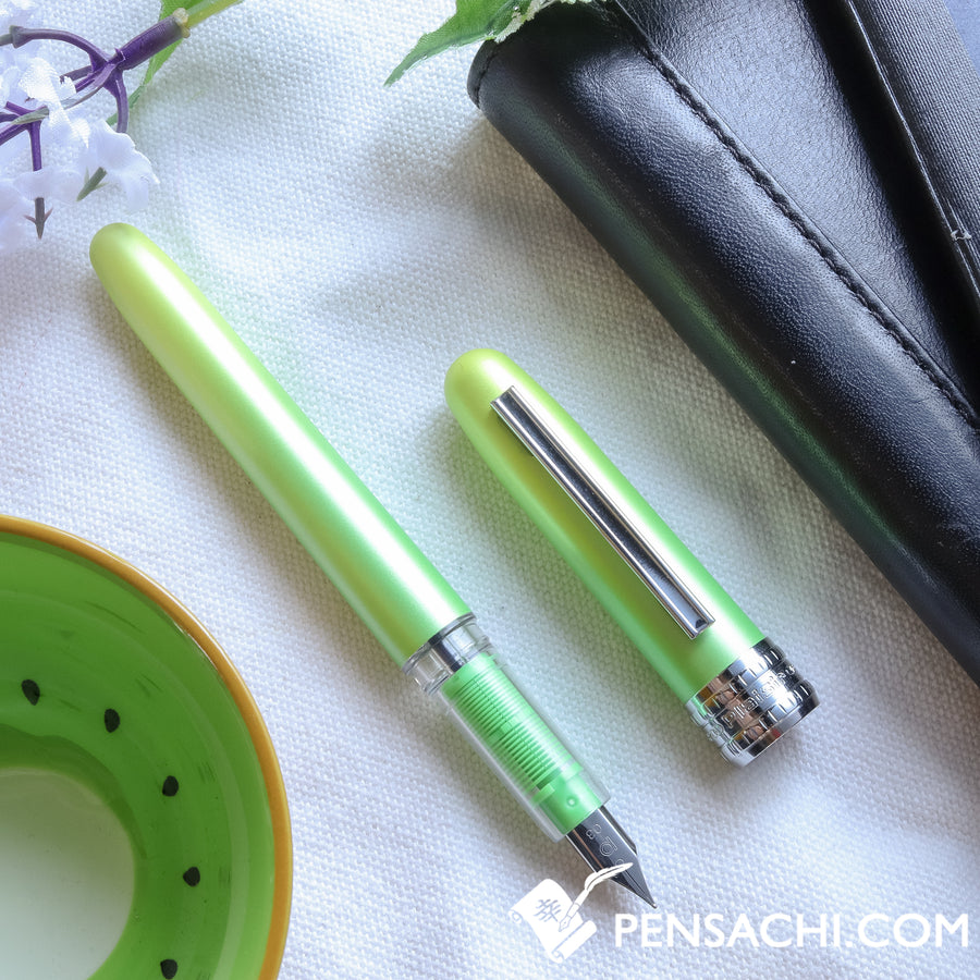 PLATINUM Plaisir Fountain Pen 10th Year anniversary- Country Sunshine - PenSachi Japanese Limited Fountain Pen