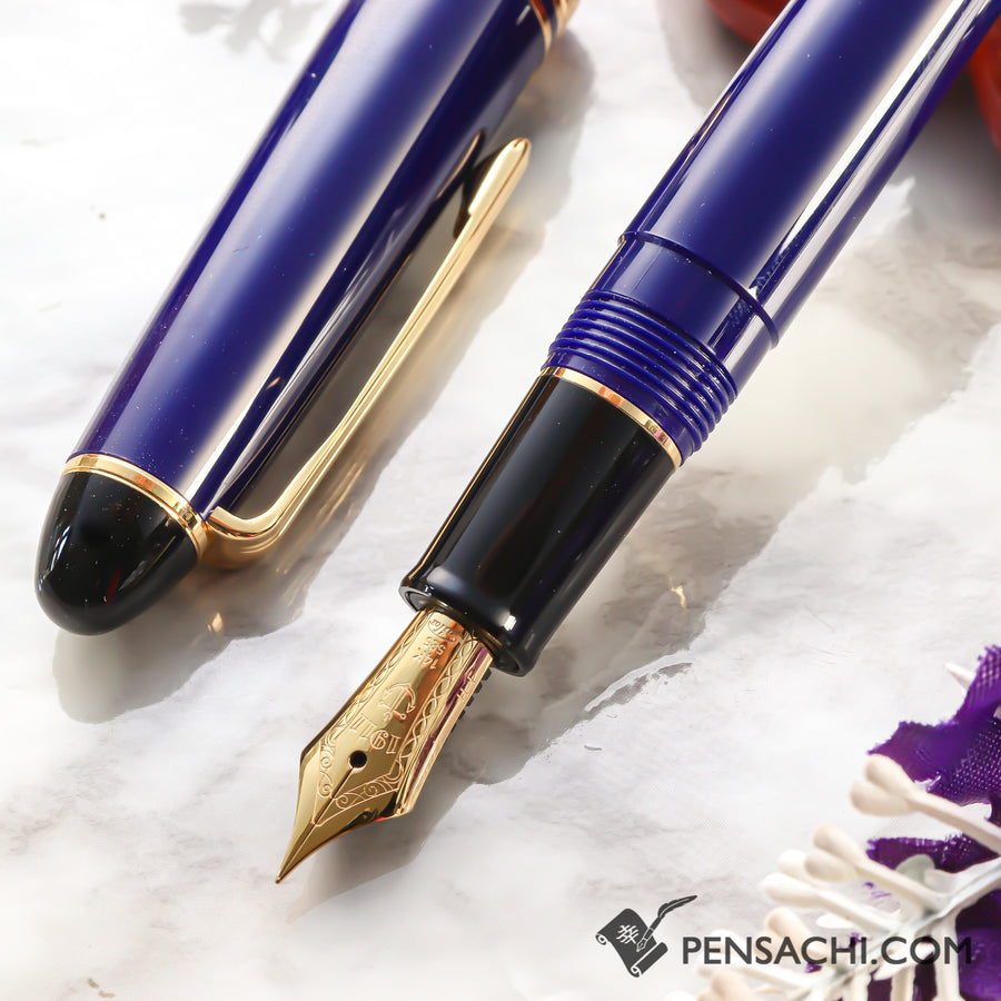SAILOR 1911 Standard (Mid size) Profit Color Fountain Pen - Dark Blue - PenSachi Japanese Limited Fountain Pen