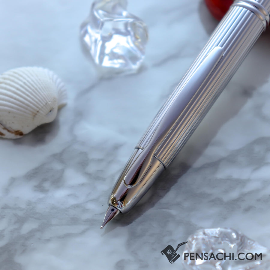 PILOT Vanishing Point Capless  Fountain Pen - Stripe - PenSachi Japanese Limited Fountain Pen