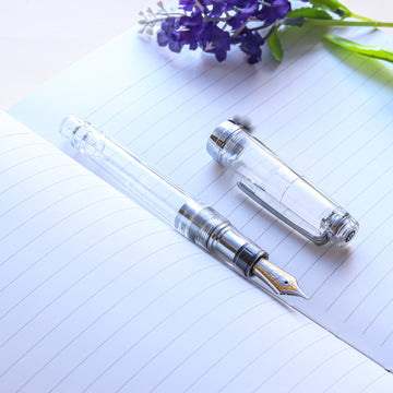 SAILOR Limited Edition Pro Gear Classic Demonstrator Fountain Pen - Transparent - PenSachi Japanese Limited Fountain Pen