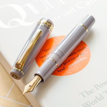 SAILOR Pro Gear Slim Mini Fountain Pen Morocco - Ayur Gray - PenSachi Japanese Limited Fountain Pen