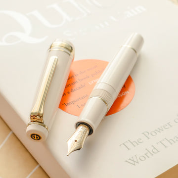 SAILOR Pro Gear Slim Mini Fountain Pen Morocco - Beni White - PenSachi Japanese Limited Fountain Pen