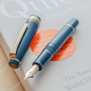 SAILOR Pro Gear Slim Mini Fountain Pen Morocco - Ayur Blue - PenSachi Japanese Limited Fountain Pen