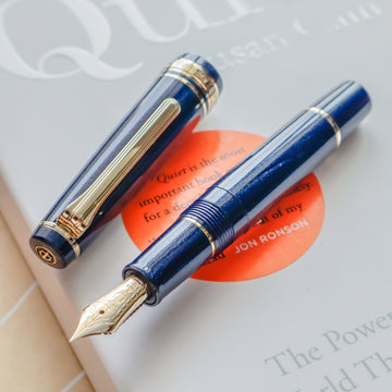 SAILOR Pro Gear Slim Mini Fountain Pen Morocco - Night Blue - PenSachi Japanese Limited Fountain Pen
