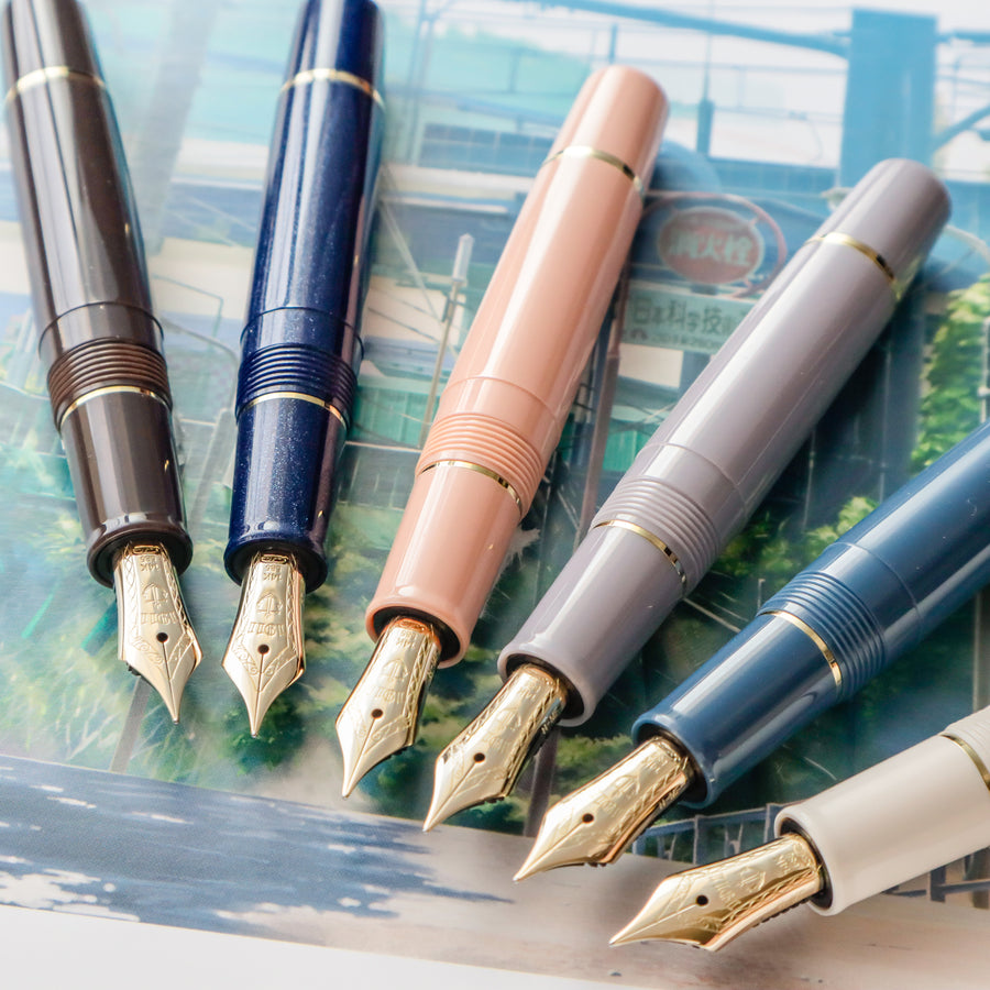 SAILOR Professional Gear Slim Mini Set of 6 - Morocco - PenSachi Japanese Limited Fountain Pen