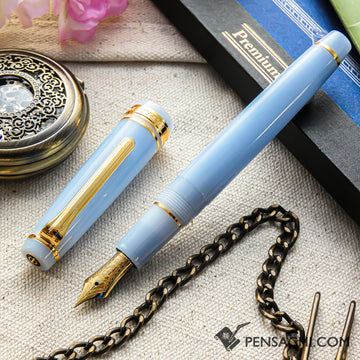 SAILOR Pro Gear Slim Shikiori Otogibanashi Fountain Pen - Weaving crane - PenSachi Japanese Limited Fountain Pen