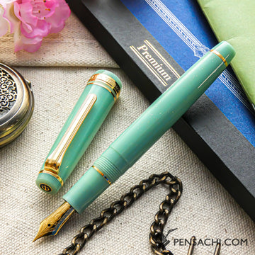 SAILOR Pro Gear Slim Shikiori Otogibanashi Fountain Pen - Ryuuguu Castle - PenSachi Japanese Limited Fountain Pen
