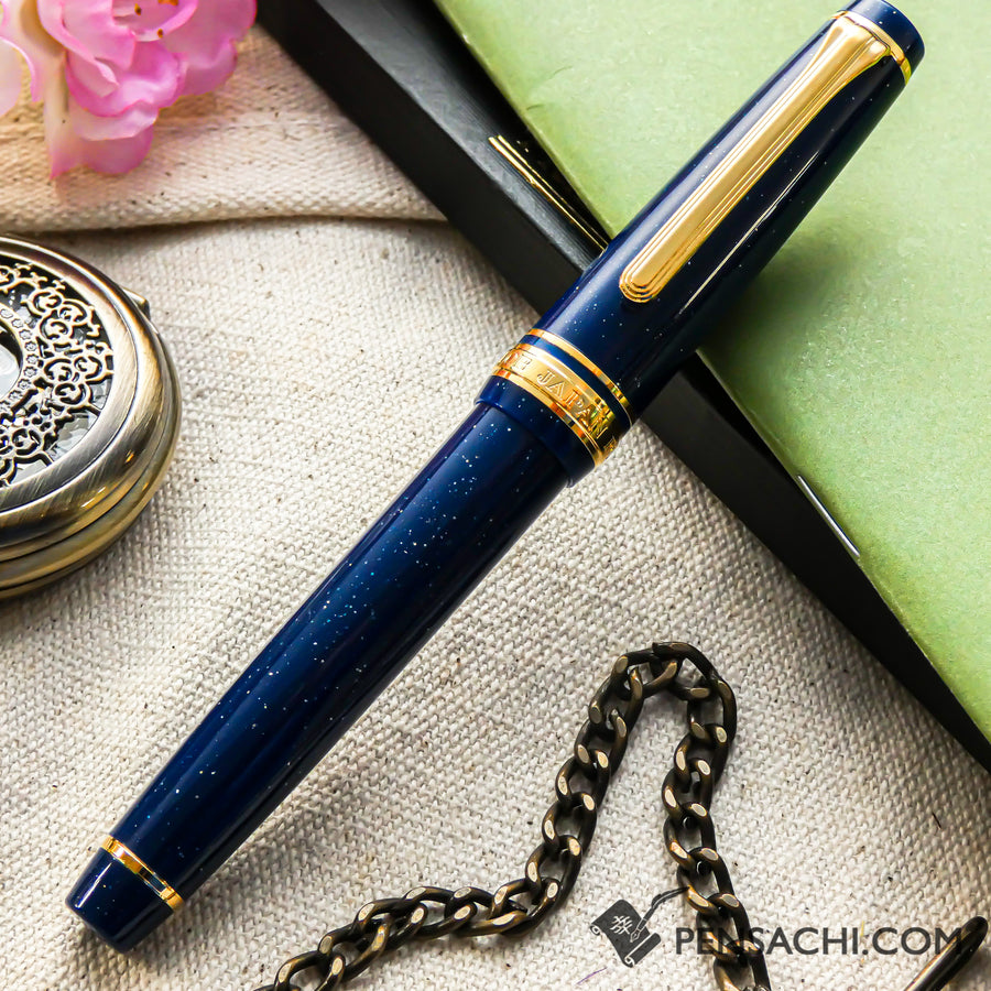 SAILOR Pro Gear Slim Shikiori Otogibanashi Fountain Pen - Milky Way - PenSachi Japanese Limited Fountain Pen