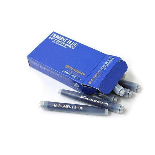 Platinum Water-based Pigment Ink Cartridge - Blue Refill- PenSachi Japanese Limited Fountain Pen