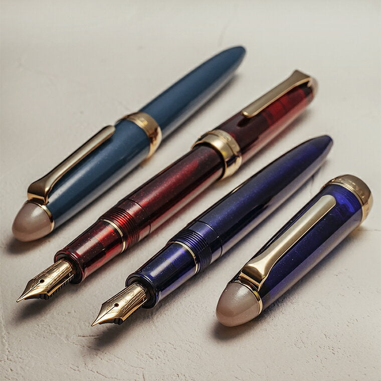 SAILOR Procolor Shikiori Yonaga Stainless Steel Fountain Pen - Sparkling Night Color