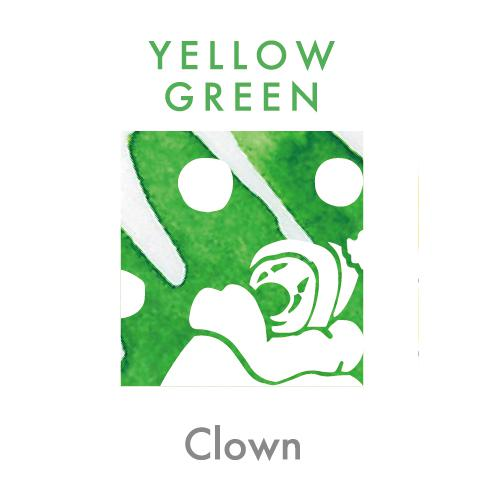 Sailor Storia Ink Yellow Green - Clown 20ml - PenSachi Japanese Limited Fountain Pen