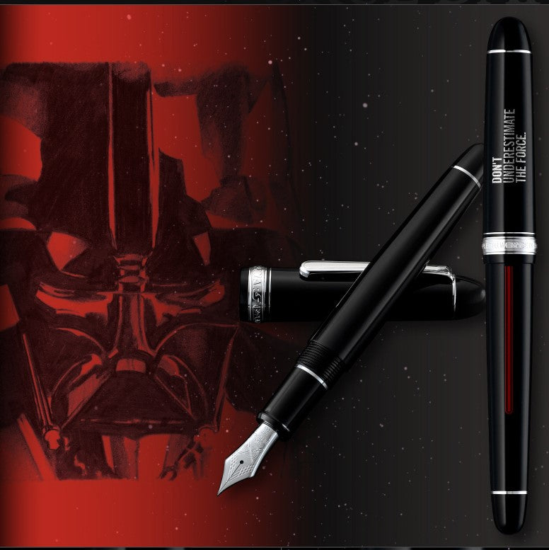 Platinum #3776 Century Star Wars Fountain Pen Set - PenSachi Japanese Limited Fountain Pen