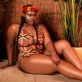 Plus Size Motherland One-Piece Swimwear