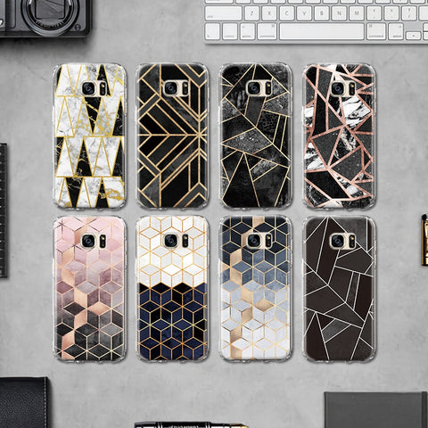 YesHoney™ Lux Honey Marble Samsung Case