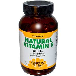 Country Life - Natural Vitamin E - 90 Softgels