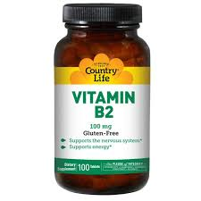 Country Life - Vitamin B2 - 100 Tablets