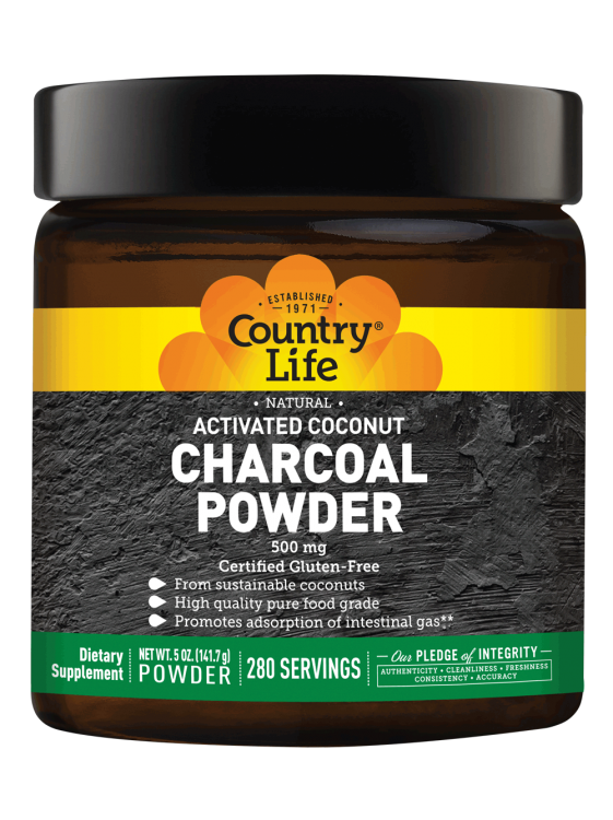 Country Life - Activate Coconut Charcoal Powder