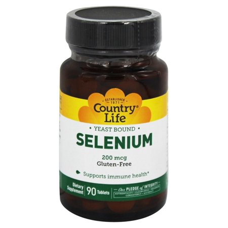 Country Life - Yeast-Bound Selenium - 90 Tablets